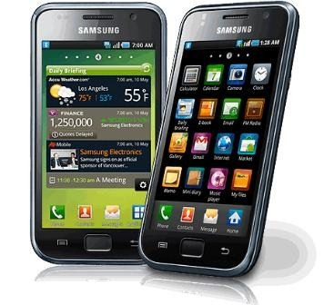 Samsung Galaxy S: The Super Sexy Smartphone to be Launched in 110